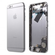 Metal Back Housing Faceplate Assembly Parts for iPhone 6 - Grey