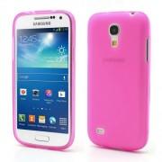 Θήκη Σιλικόνης TPU Ματ για Samsung Galaxy S4 mini I9190 I9192 I9195 - Φούξια