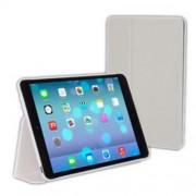 XtremeMac Δερμάτινη Θήκη Βιβλίο με Βάση Στήριξης και Όψη Ανάγλυφη για iPad Mini 3 / 2 / 1 - Λευκό