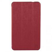 XtremeMac Δερμάτινη Θήκη Βιβλίο με Βάση Στήριξης και Όψη Ανάγλυφη για Samsung Galaxy Tab 4 7.0 T230 T231 T235 - Κόκκινο