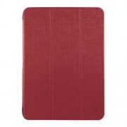 XtremeMac Δερμάτινη Θήκη Βιβλίο με Βάση Στήριξης και Όψη Ανάγλυφη για Samsung Galaxy Tab S 10.5 T800 T805 - Κόκκινο