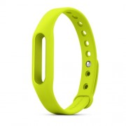 XIAOMI OEM Silicone Wrist Band for Xiaomi Smart Wristband - Green