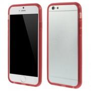 Θήκη Bumper Σιλικόνης TPU για iPhone 8 / 7 / 6 / 6s - Κόκκινο
