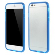 Θήκη Bumper Σιλικόνης TPU για iPhone 8 / 7 / 6 / 6s - Μπλε