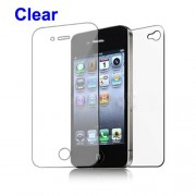 Διάφανη Μεμβράνη Προστασίας Οθόνης και Πλάτης για iPhone 4 4S