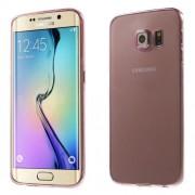 Ultra-slim 0,6mm TPU Case for Galaxy S6 edge G925 - Rose