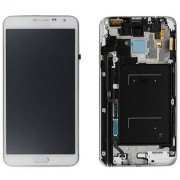 Original Samsung LCD + Digitizer Touch Screen for Samsung Galaxy Note 3 Neo SM-N7505 - White (GH97-15540B)