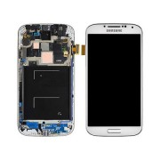 Original Samsung Lcd Display + Digitizer Touch Screen for Samsung Galaxy S4 i9505 - White (GH97-14655A)