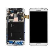 Γνήσια Samsung Οθόνη LCD και Μηχανισμός Αφής για Samsung Galaxy S4 i9505 - Λευκό (GH97-14655A)