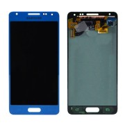 Original Samsung LCD + Digitizer Touch Screen for Samsung Galaxy Alpha SM-G850F - Blue (GH97-16386C)