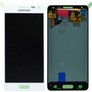 Original Samsung LCD + Digitizer Touch Screen for Samsung Galaxy Alpha SM-G850F - White (GH97-16386D)
