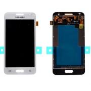 Γνήσια Samsung Οθόνη LCD & Μηχανισμός Αφής για Samsung Galaxy Core 2 - Λευκό (GH97-16070A)