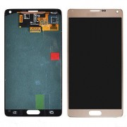 Original Samsung LCD + Digitizer Touch Screen for Samsung Galaxy Note 4 - Gold (GH97-16565C)