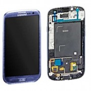 Samsung LCD Screen + Digitizer Touch Screen for Galaxy S3 i9300 - Blue (GH97-13630A)