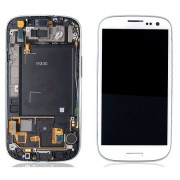Samsung LCD Screen + Digitizer Touch Screen for Galaxy S3 i9300 - White (GH97-13630B)