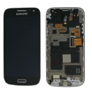 Original Samsung LCD + Digitizer Touch Screen for Samsung Galaxy S4 Mini - Black Edition (GH97-15631A)