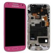 Γνήσια Samsung Οθόνη LCD & Μηχανισμός Αφής για Samsung Galaxy S4 Mini i9195 - Ροζ (GH97-14766G)