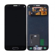 Original Samsung LCD + Digitizer Touch Screen for Samsung Galaxy S5 Mini - Black (GH97-16147A)
