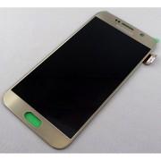 Γνήσια Samsung Οθόνη LCD & Μηχανισμός Αφής για Samsung Galaxy S6 SM-G920F - Χρυσαφί (GH97-17260C)