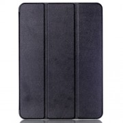 Tri-fold Stand Smart Leather Case for Samsung Galaxy Tab S2 9.7 T810 T815 Lychee Texture - Black