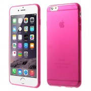 0.6mm TPU Gel Skin Cover for iPhone 6 Plus / 6s Plus - Rose