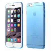0.6mm TPU Gel Case Cover for iPhone 6 Plus / 6s Plus - Blue