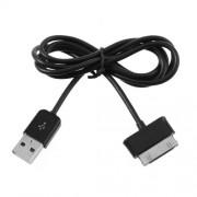 Καλώδιο Φόρτισης και Δεδεομένων USB 2.0 σε Samsung 30 Pin για Samsung Galaxy Tab P7300 P7500 P6200 P6210 N8000 P1000 - Μαύρο