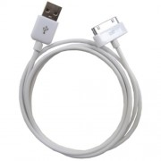 USB 2.0 Data Sync Charger Cable for iPhone 4S 4 3GS 3G 2G For iPad For iPod Series (High Quality) (IPHONE-601) - 1 m