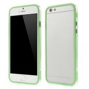 Θήκη Bumper Σιλικόνης TPU και Πλαστικό για iPhone 6 / 6s - Πράσινο