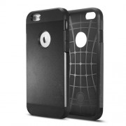 2 in 1 Durable Armor PC + TPU Hybrid Case for iPhone 6s / 6 4.7 inch - Black