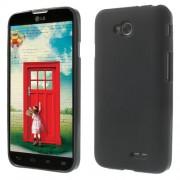 Θήκη Σιλικόνης TPU Ματ για LG L70 DUAL SIM D325 - Μαύρο