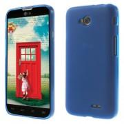 Θήκη Σιλικόνης TPU Ματ για LG L70 DUAL SIM D325 - Μπλε