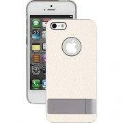 Moshi iGlaze Kameleon Λεπτή Σκληρή Θήκη με Βάση Στήριξης για iPhone 5 5s SE (99MO061102) - Λευκό