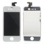Οθόνη LCD και Οθόνη Μηχανισμού Αφής για iPhone 4 - Λευκό