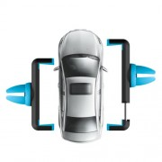 HOCO CPH01 Βάση Στήριξης Αυτοκινήτου Αεραγωγού για iPhone Samsung Sony Πλάτος: 5,5-8,5cm - Μπλε