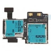 Καλωδιοταινία Κάρτας SIM και Κάρτας Μνήμης για Samsung I9500 Galaxy S4 IV
