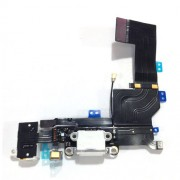 For iPhone 5s Dock Connector Charging Port Flex Cable Replacement OEM - White