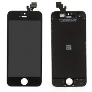 For iPhone 5 LCD Assembly with Touch Screen and Digitizer Frame Bezel  - Black (Generic)