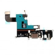 OEM Dock Connector Charging Port Flex Cable for iPhone 6 4,7 - Dark Grey