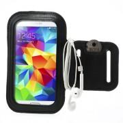 Περιβραχιόνια Θήκη (Κατάλληλη για Σπορ) για Samsung Galaxy S5 G900 - Μαύρο