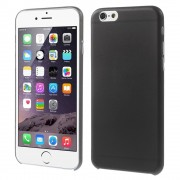 Slim 0.3mm Matte Plastic Case for iPhone 6 / 6s - Black
