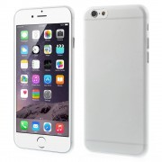 Slim 0.3mm Matte Plastic Case for iPhone 6 / 6s - Transparent
