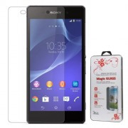 0.26mm 2.5D Anti-explosion Tempered Glass Screen Cover Film for Sony Xperia Z2 D6502 D6503 D6543 (Arc Edge)