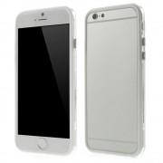 Θήκη Bumper Σιλικόνης TPU και Πλαστικό για iPhone 6 / 6s - Λευκό