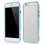 Θήκη Bumper Σιλικόνης TPU και Πλαστικό για iPhone 6 / 6s - Γαλάζιο