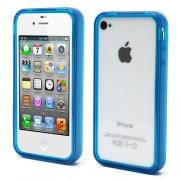 Θήκη Bumper Σιλικόνης TPU για iPhone 4s 4 - Μπλε