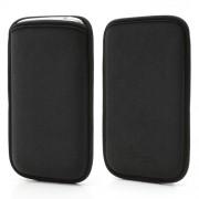 Θήκη Πουγκί από Ύφασμα για  Samsung Galaxy Grand I9080 i9082 i9060 i9062, Μέγεθος: 14.1 x 7.8cm - Μαύρο