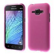 Θήκη Σιλικόνης TPU Ματ για Samsung Galaxy J1 / J1 4G - Φούξια