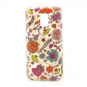 Θήκη Σιλικόνης TPU για Samsung Galaxy S5 mini G800 - Λουλούδια και Πουλιά