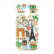Θήκη Σιλικόνης TPU για Samsung Galaxy S5 mini G800 - Πύργος του Άιφελ και Διάφορα Άλλα Στοιχεία από Παρίσι